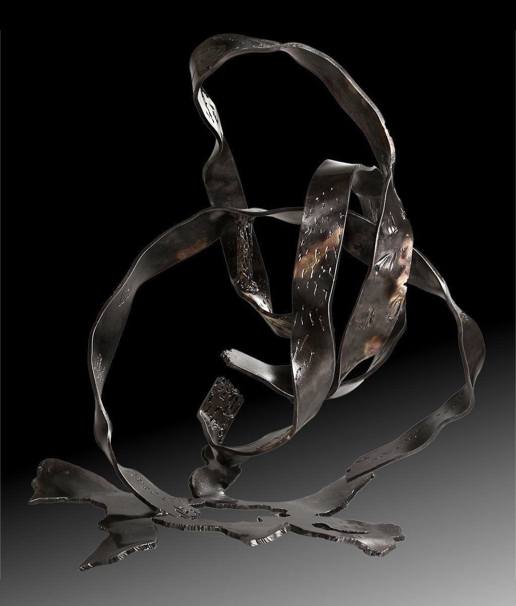 No title | 2014 | Iron & brass | 90x70x70 cm | Rami Ater