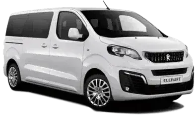 Airport transfer with minivan class vehicle for 1-6 passengers