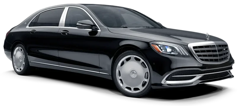 Mercedes Maybach Airport Taxi Transfer in St. Petersburg