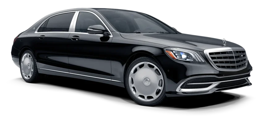Chauffeur service and airport transfers with Mercedes - Maybach in St Petersburg Russia