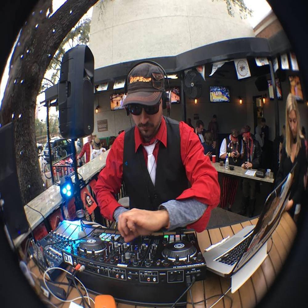 Guest DJ Jonnie Sparko.