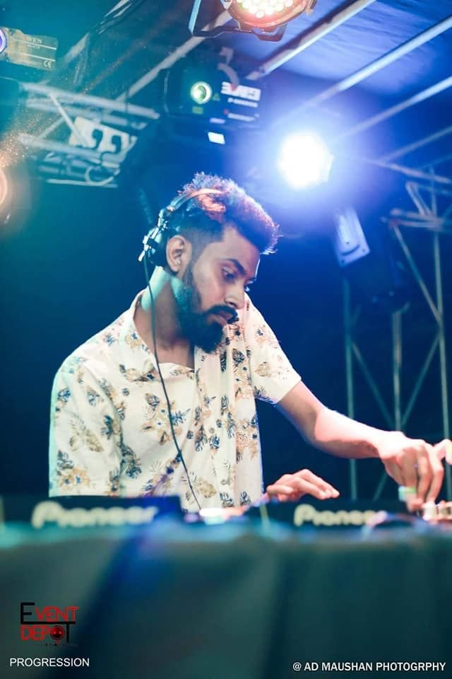 Deep J performing in Sri Lanka