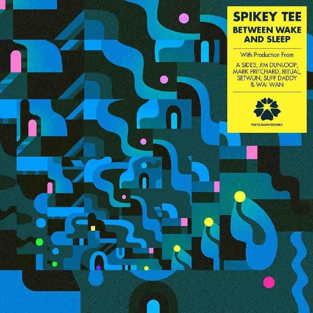 Spikey Tee Between Wake and Sleep Album Cover