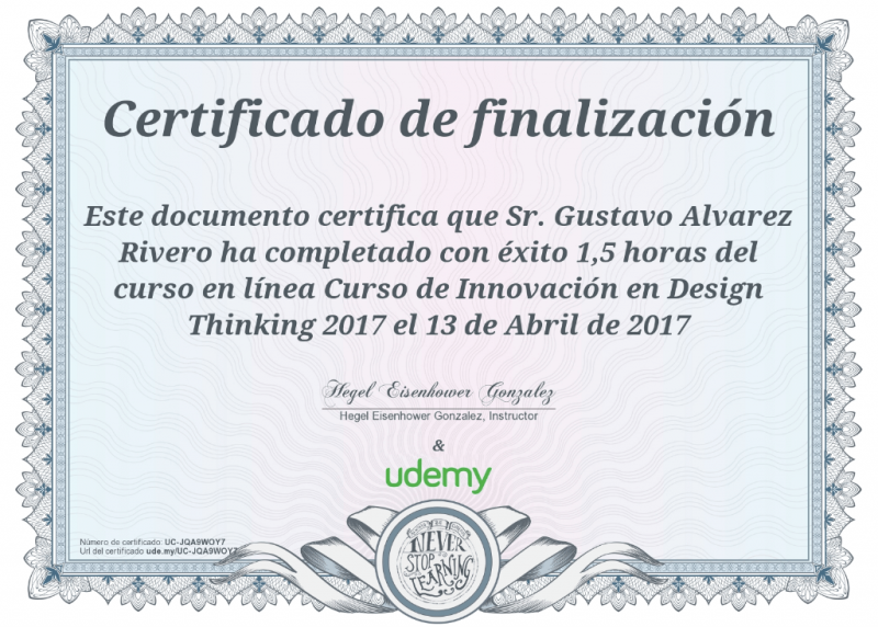 Innovacion en DESIGN THINKING