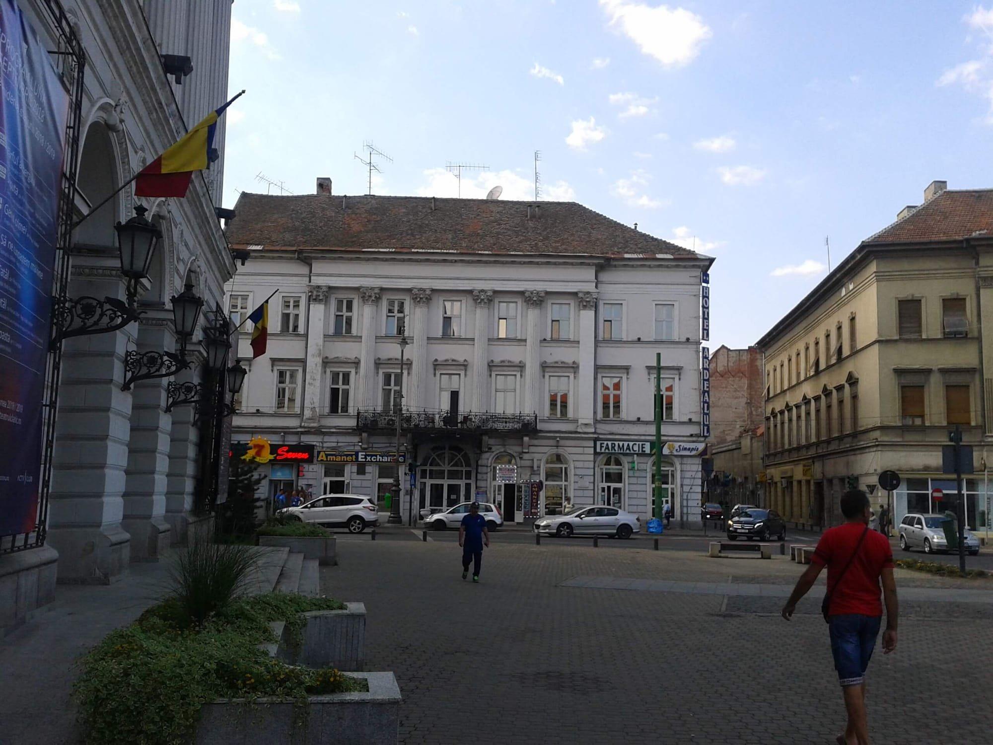 Hotelul Crucea Alba Arad