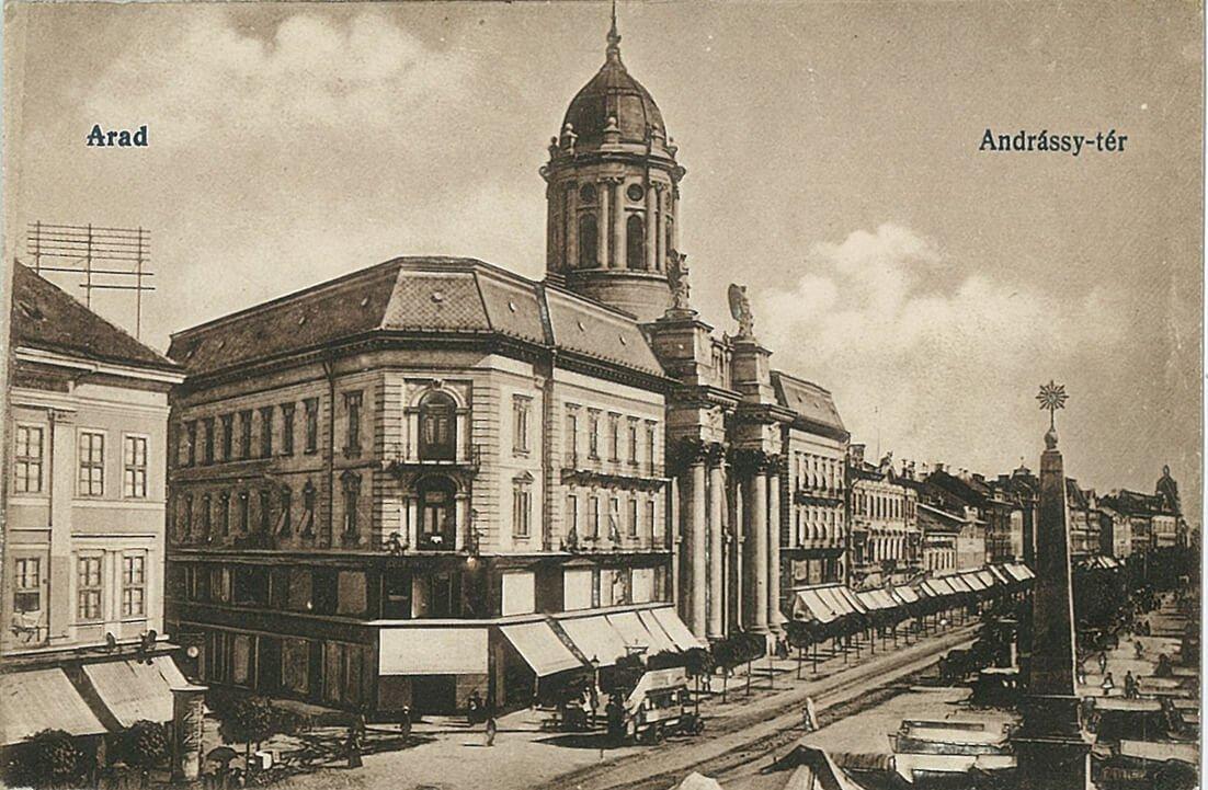 Aradi központi katolikus templom