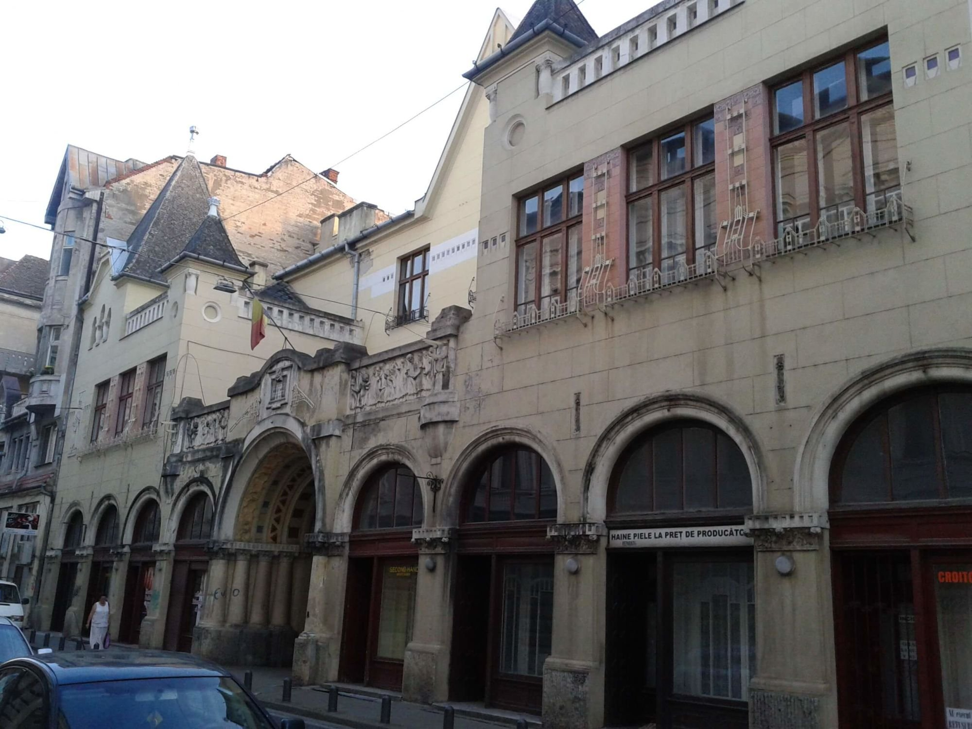Templom utcai léányiskola - Arad