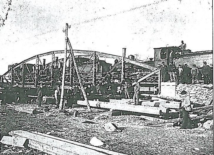 pod cale ferată Dezna - județul Arad