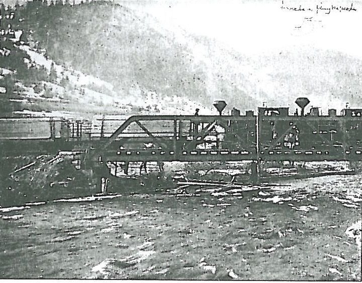 testare pod cale ferată Dezna - județul Arad