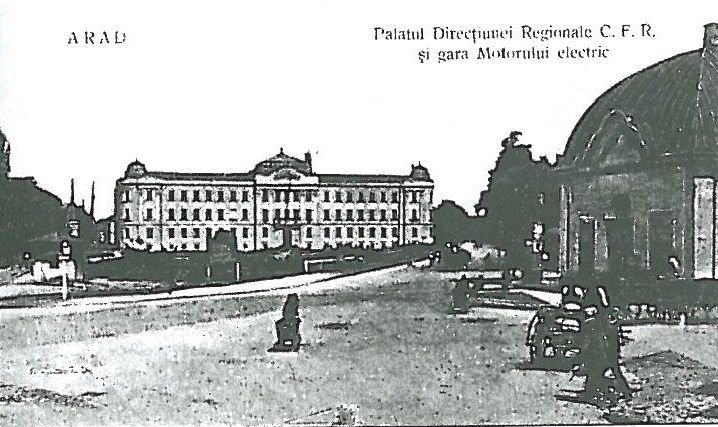 Aradi vasúti palota