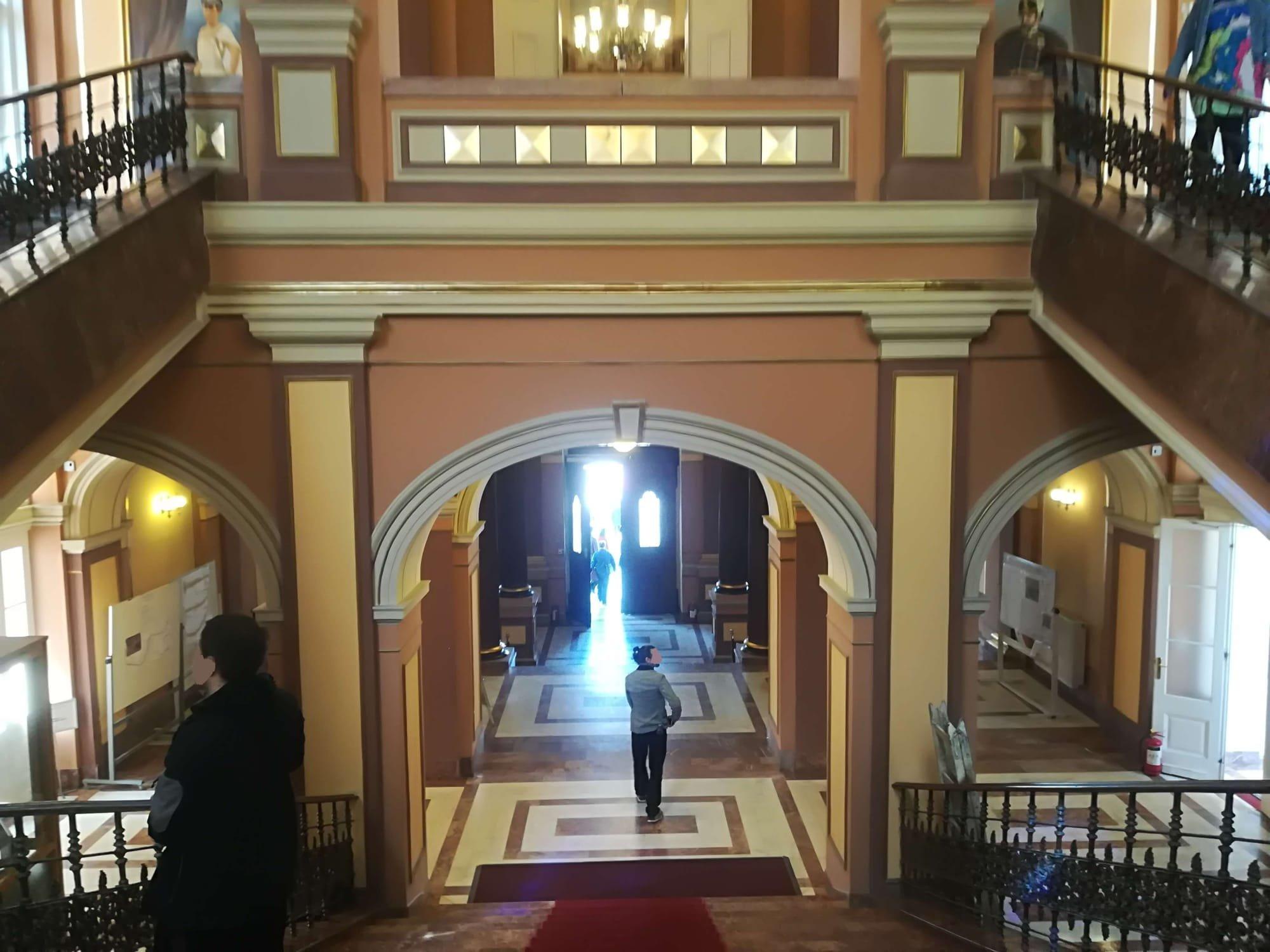 holul primariei Aradului