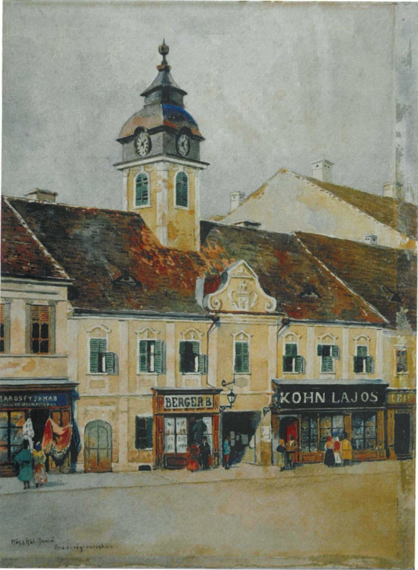 old town hall from Arad