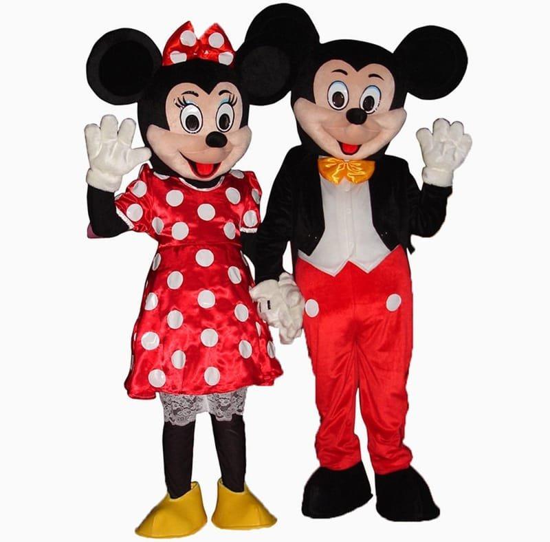 Mascotte topolino & Minnie