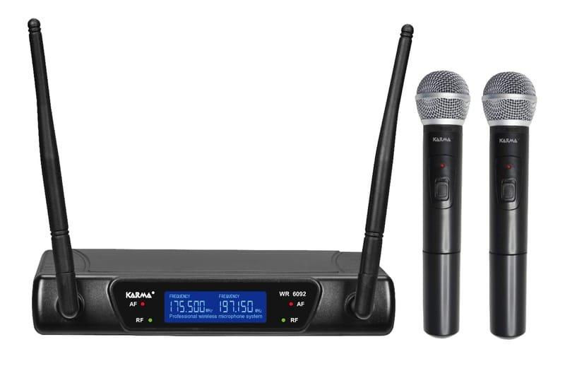 Noleggio KARMA SET 6092 Doppio radiomicrofono gelato VHF