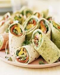 Roasted Veggie Wraps