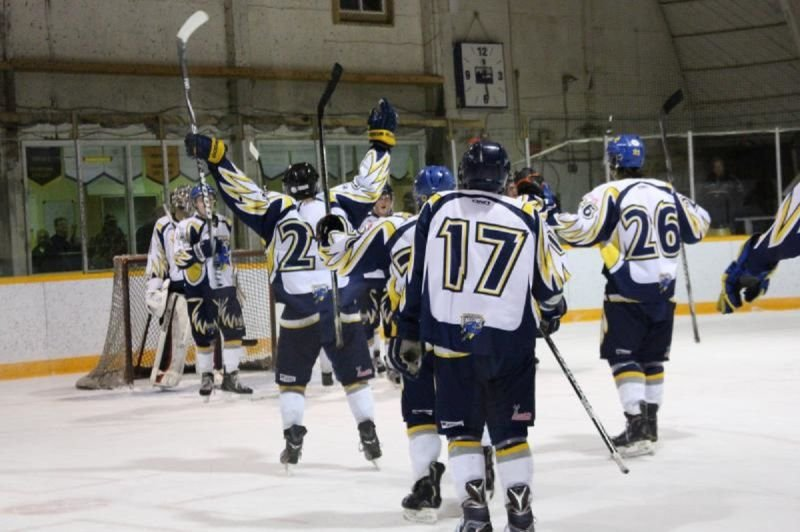 Lundar Falcons Junior B Hockey Club