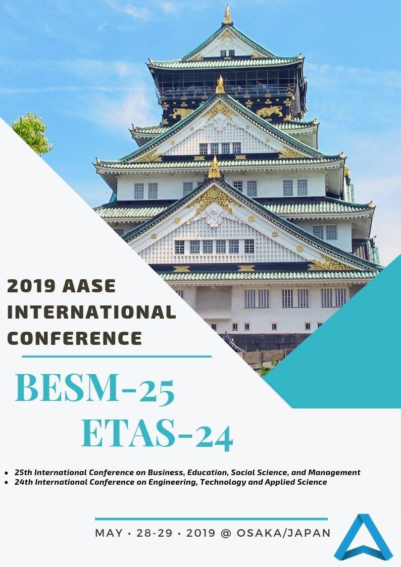 Proceedings of AASE International Conference: BESM-25 & ETAS-24