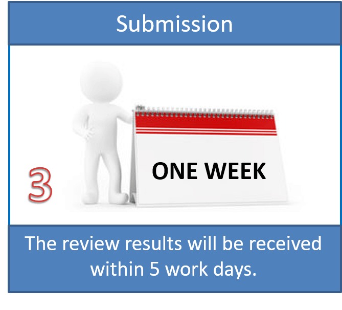 Step 3: Waiting for Review Results