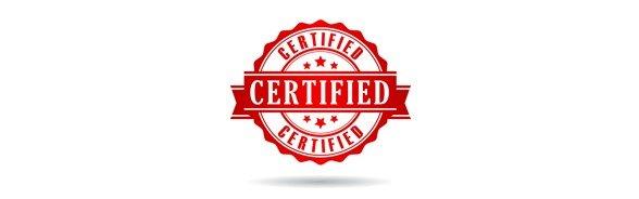 Contrôles et certifications