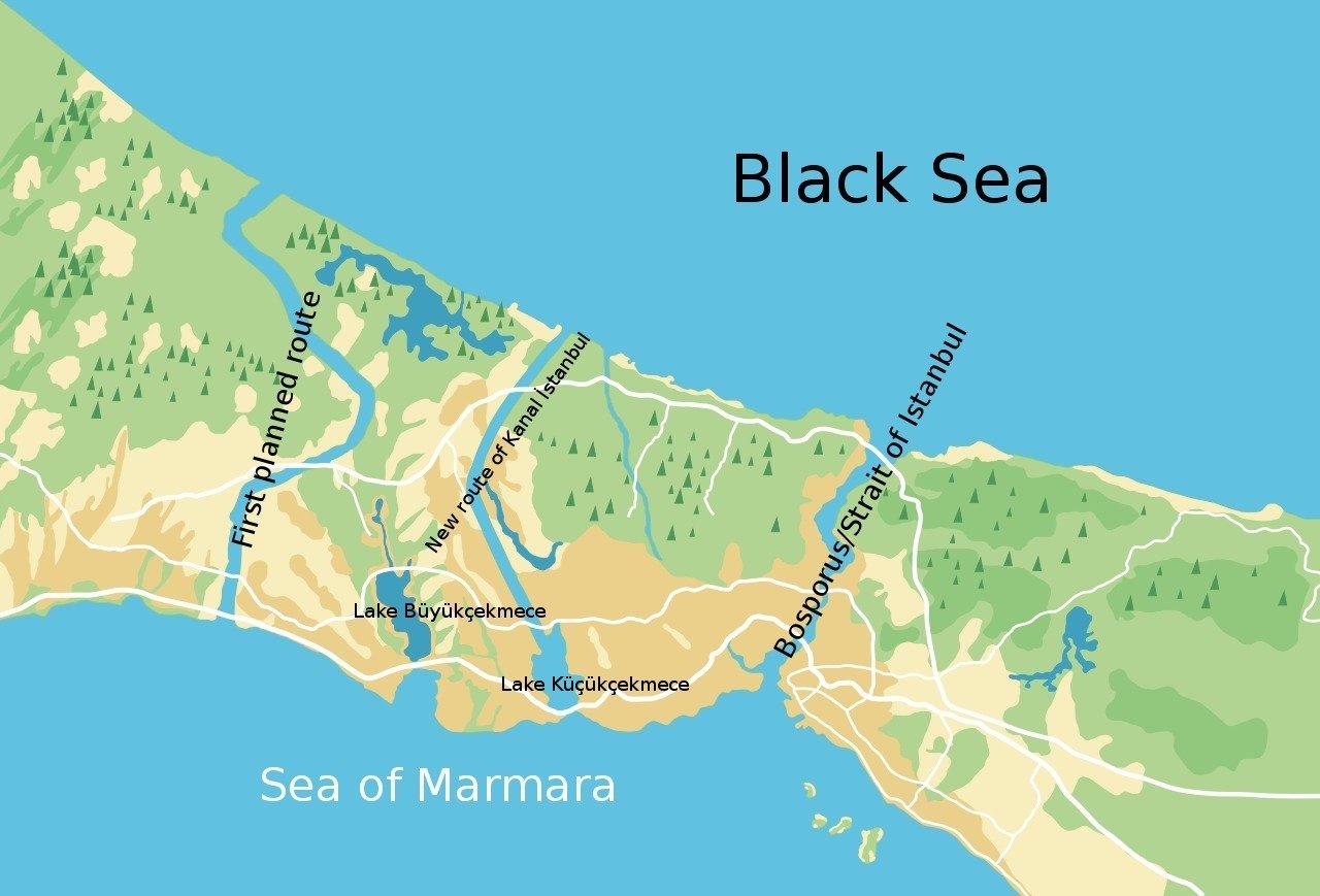 Kanal İstanbul Nerede Geçecek